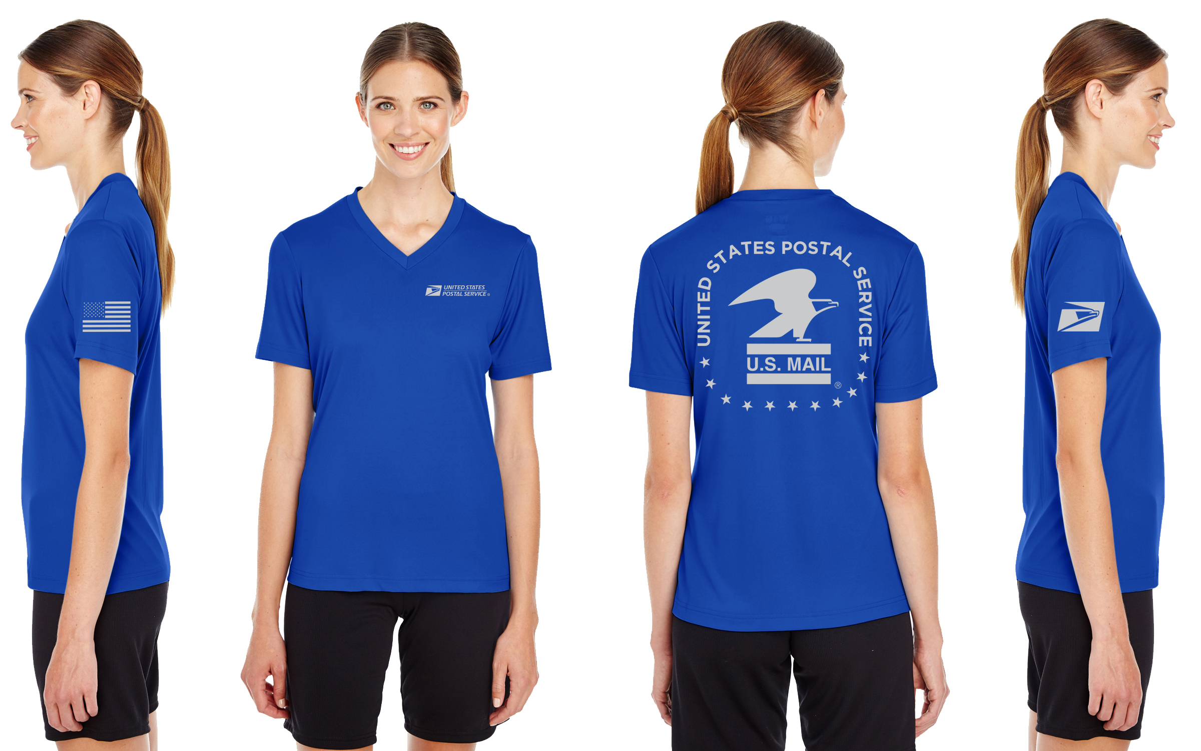 Usps Performance Shirt Women 407 Prints